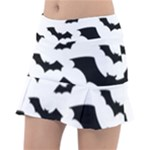 Deathrock Bats Tennis Skirt