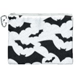 Deathrock Bats Canvas Cosmetic Bag (XXL)