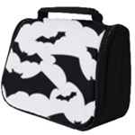 Deathrock Bats Full Print Travel Pouch (Big)