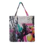 Graffiti Grunge Grocery Tote Bag
