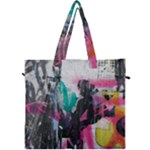 Graffiti Grunge Canvas Travel Bag