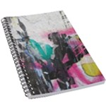 Graffiti Grunge 5.5  x 8.5  Notebook