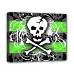 Deathrock Skull Canvas 10  x 8  (Stretched)