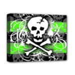 Deathrock Skull Deluxe Canvas 14  x 11  (Stretched)