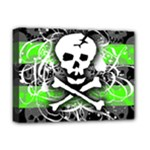Deathrock Skull Deluxe Canvas 16  x 12  (Stretched)