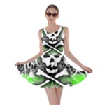 Deathrock Skull Skater Dress