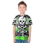 Deathrock Skull Kids  Cotton Tee