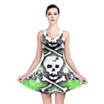Deathrock Skull Reversible Skater Dress