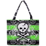 Deathrock Skull Mini Tote Bag