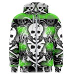 Deathrock Skull Men s Zipper Hoodie