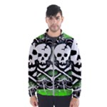 Deathrock Skull Men s Windbreaker
