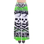 Deathrock Skull So Vintage Palazzo Pants