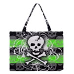 Deathrock Skull Medium Tote Bag