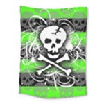 Deathrock Skull Medium Tapestry