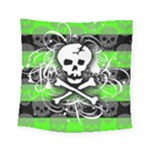 Deathrock Skull Square Tapestry (Small)