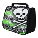 Deathrock Skull Full Print Travel Pouch (Small)
