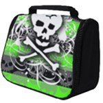 Deathrock Skull Full Print Travel Pouch (Big)