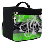 Deathrock Skull Make Up Travel Bag (Small)