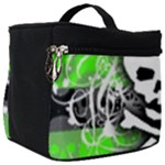 Deathrock Skull Make Up Travel Bag (Big)