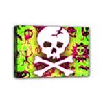 Deathrock Skull & Crossbones Mini Canvas 6  x 4  (Stretched)