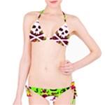 Deathrock Skull & Crossbones Classic Bikini Set