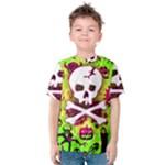Deathrock Skull & Crossbones Kids  Cotton Tee
