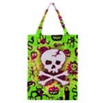 Deathrock Skull & Crossbones Classic Tote Bag