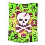 Deathrock Skull & Crossbones Medium Tapestry