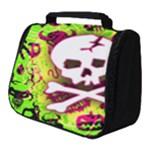 Deathrock Skull & Crossbones Full Print Travel Pouch (Small)