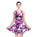 Emo Scene Girl Skull Reversible Skater Dress