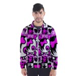 Emo Scene Girl Skull Men s Windbreaker