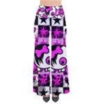 Emo Scene Girl Skull So Vintage Palazzo Pants