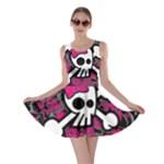 Girly Skull & Crossbones Skater Dress