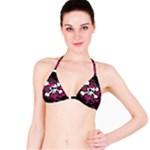 Girly Skull & Crossbones Bikini Top