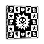 Gothic Punk Skull Mini Canvas 6  x 6  (Stretched)
