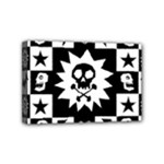 Gothic Punk Skull Mini Canvas 6  x 4  (Stretched)