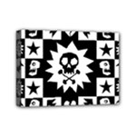 Gothic Punk Skull Mini Canvas 7  x 5  (Stretched)