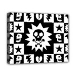 Gothic Punk Skull Canvas 10  x 8  (Stretched)