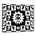Gothic Punk Skull Canvas 24  x 20  (Stretched)
