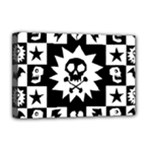 Gothic Punk Skull Deluxe Canvas 18  x 12  (Stretched)