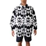 Gothic Punk Skull Kids  Windbreaker
