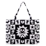 Gothic Punk Skull Medium Tote Bag