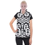 Gothic Punk Skull Women s Button Up Vest