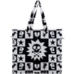 Gothic Punk Skull Canvas Travel Bag