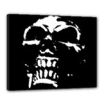 Morbid Skull Canvas 20  x 16  (Stretched)