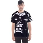 Morbid Skull Men s Sports Mesh Tee