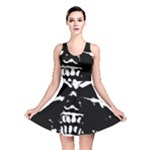 Morbid Skull Reversible Skater Dress