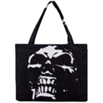 Morbid Skull Mini Tote Bag