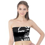 Morbid Skull Tube Top