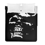 Morbid Skull Duvet Cover Double Side (Full/ Double Size)